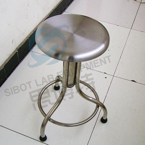 不锈钢螺旋式实验凳